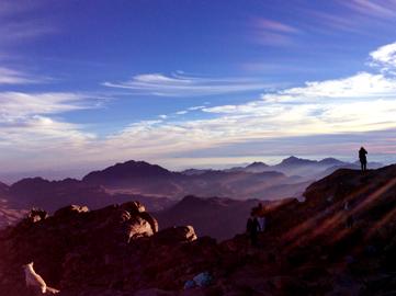 カイロ発 シナイ山