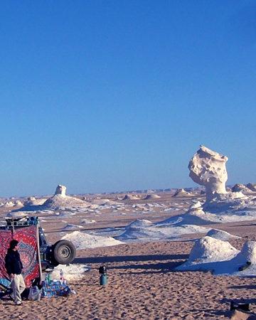 砂漠キャンプ