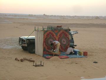 エジプト星空ツアー