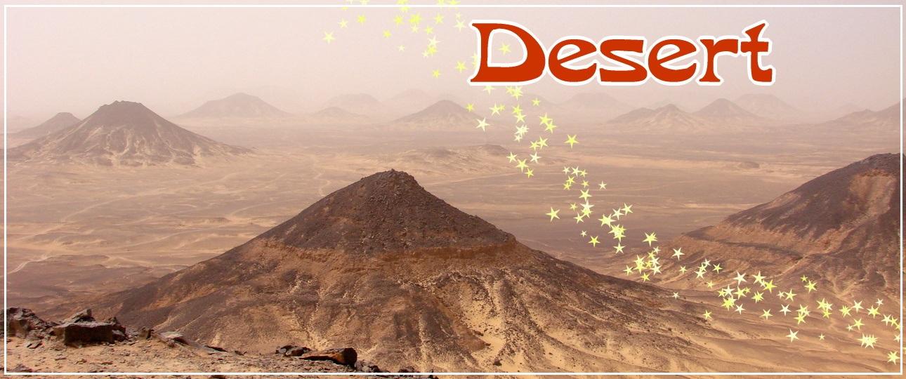 エジプト砂漠ツアー 白砂漠・黒砂漠