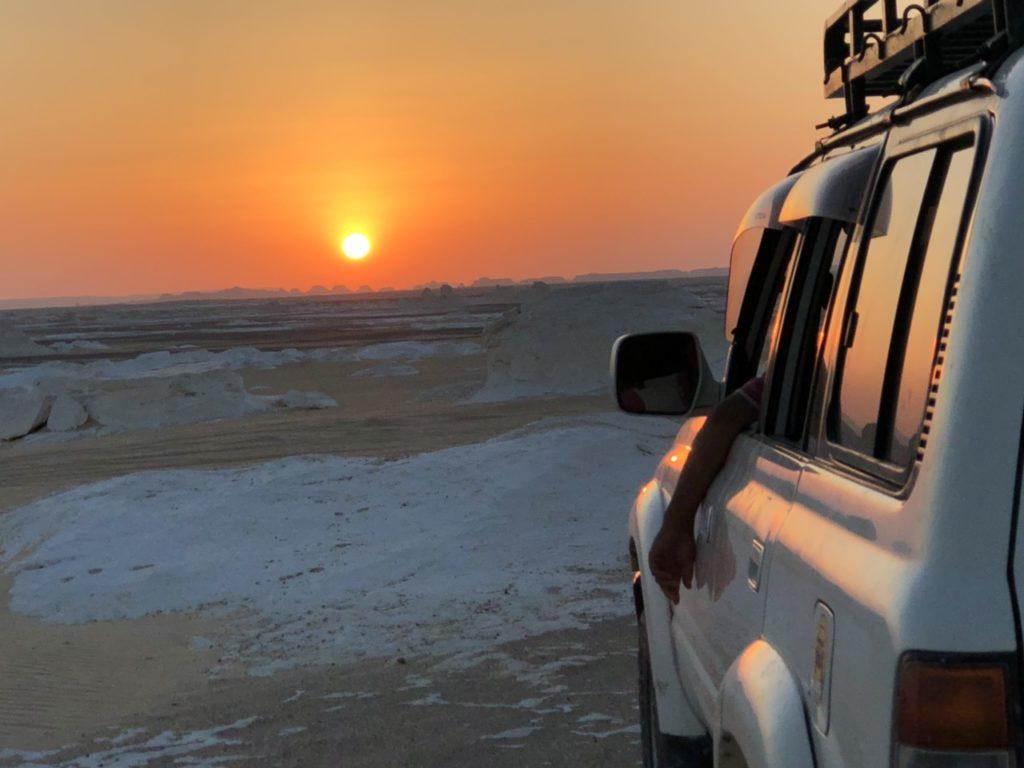 白砂漠ツアー